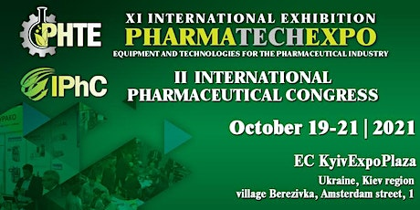 XI International Exhibition PharmaTechExpo tickets
