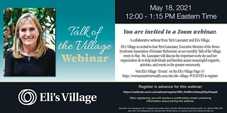 Talk of the Village • withTerri Lancaster• Down Syndrome Association tickets