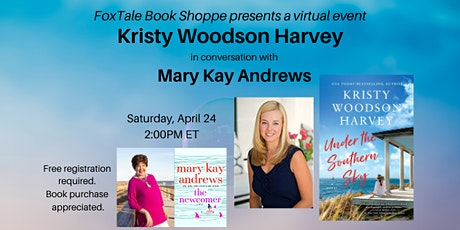 Kristy Woodson Harvey in virtual conversation with Mary Kay Andrews tickets