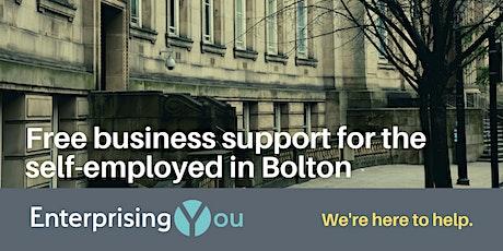 The EnterprisingYou Virtual Roadshow: Bolton tickets