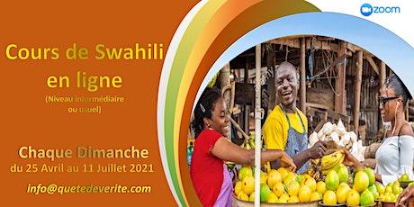 Cours de Swahili en ligne (niveau intermédiaire) billets