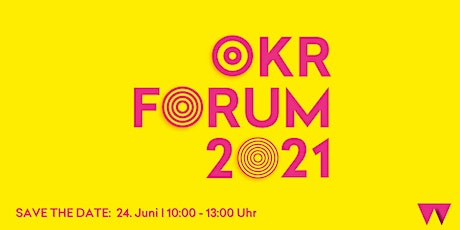 OKR Forum 2021 Tickets