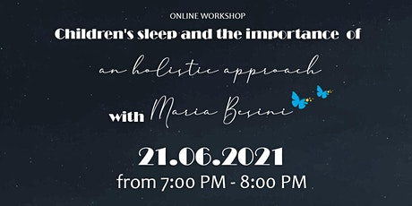 Online workshop: An holistic approach to children's sleeping tickets