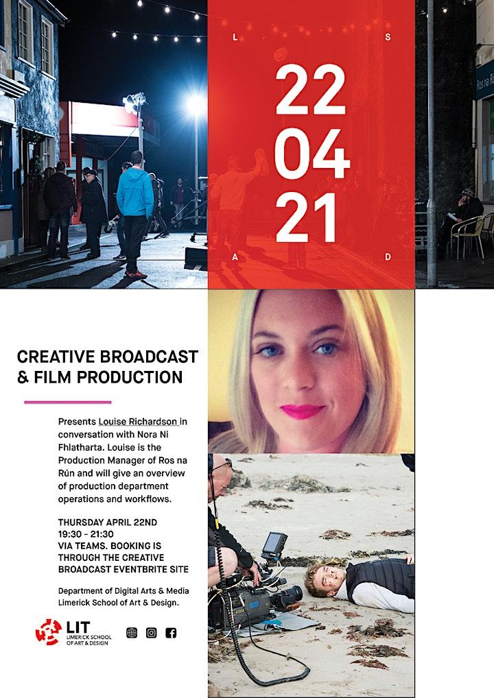Production Management With Louise Richardson image