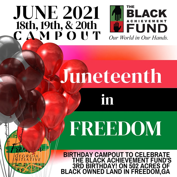 Juneteeth Campout in Freedom Georgia! image