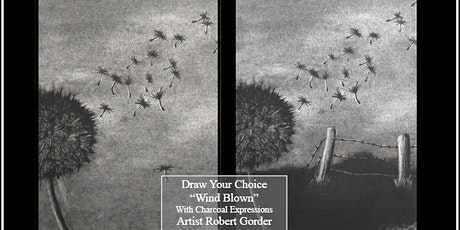 """Charcoal Drawing Event """"Wind Blown"""" in Stevens Point tickets"""