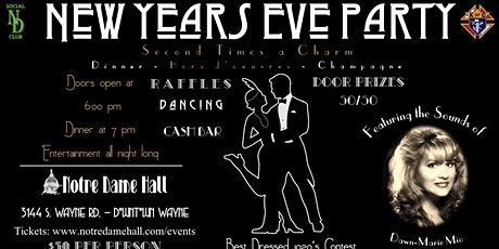 New Years Eve Party @ Notre Dame Hall 2021 tickets