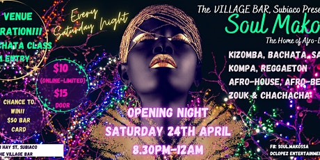 Soul Makossa at The Village Bar tickets