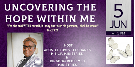 UNCOVERING THE HOPE WITHIN ME tickets