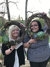 "It's BACK!  ""Succulent Living Wreath"" Class tickets"