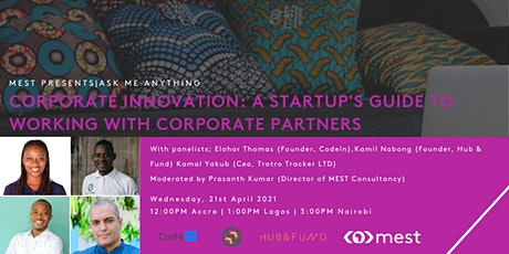 Ask Me Anything: Corporate Innovation tickets