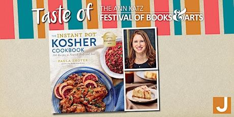 "Virtual ""Taste of Ann Katz"" Cooking Demo with ""Kosher Baker"" Paula Shoyer tickets"