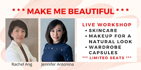 Make Me Beautiful : Skincare. Makeup For A Natural Look. Wardrobe Capsules tickets