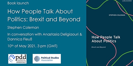 Book Launch: St. Coleman - How People Talk About Politics: Brexit and B tickets