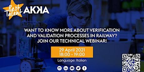 Verifica & Validazione Railway: Futuro e innovazione biglietti