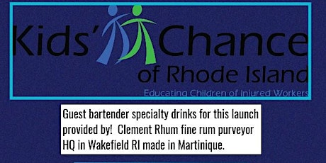 Kids Chance of Rhode Island Happy Hour Cocktail party Launch 2021 tickets