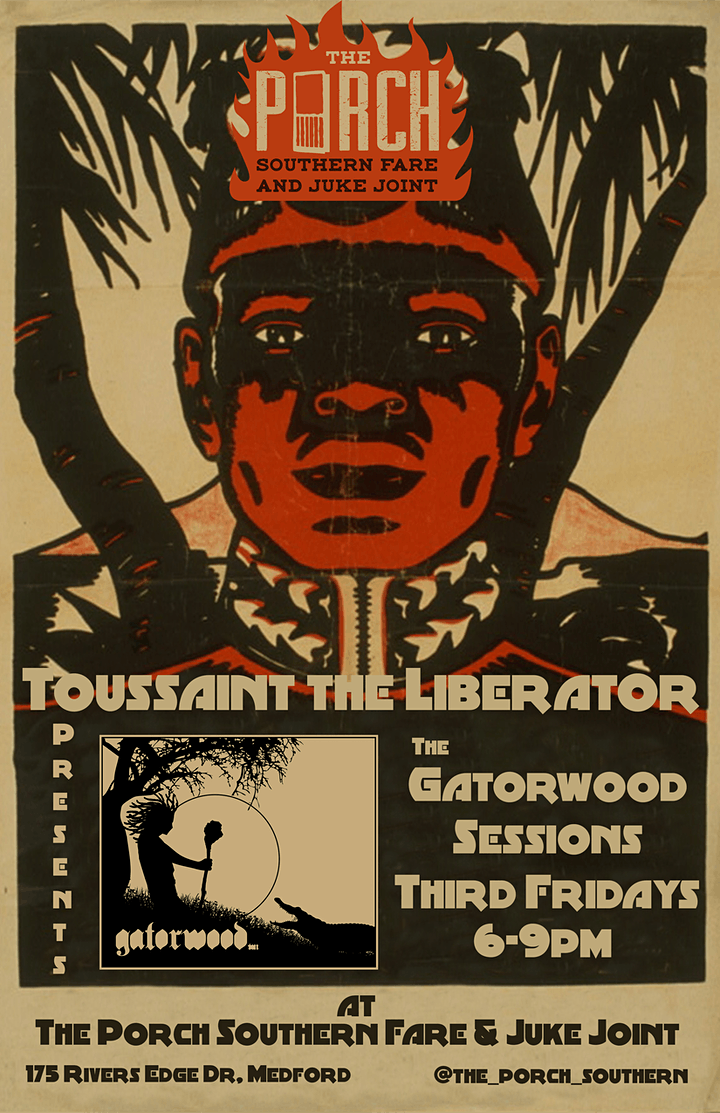Toussaint the Liberator Band Presents The Gatorwood Sessions at The Porch image