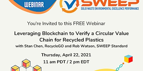 Leveraging Blockchain to Verify a Circular Value Chain for Recycled Plastic tickets