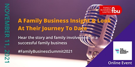 Family Business Insight Tickets