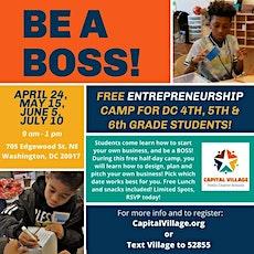 Entrepreneurship  Camp Saturday's tickets