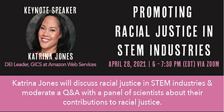 Promoting Racial Justice in STEM tickets