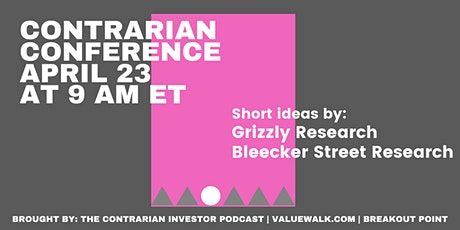 Contrarian Investor Virtual Conference Series -- Event VI tickets