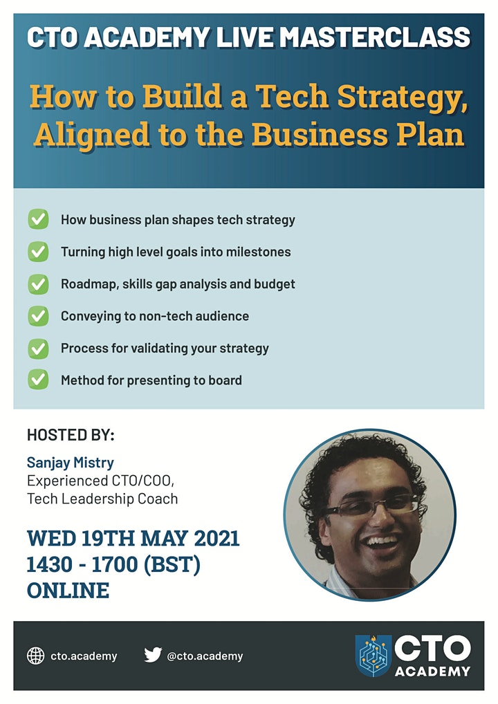 How to Build a Technology Strategy Aligned To The Business Plan image