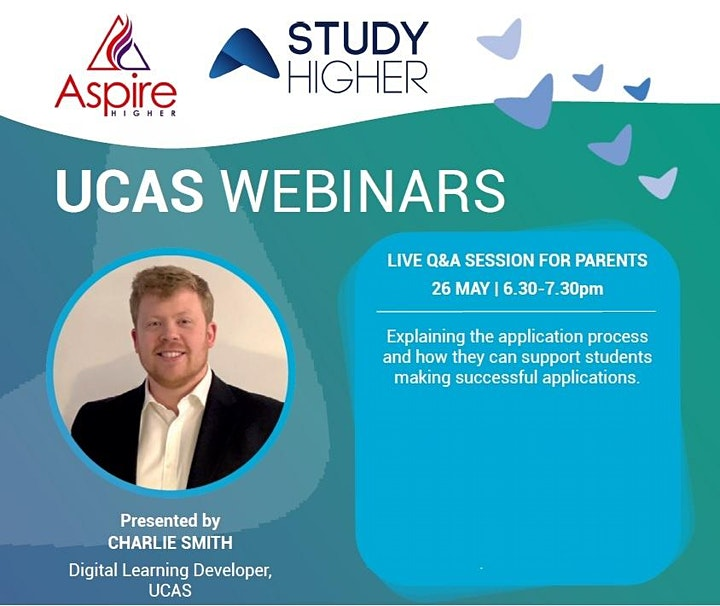 Live UCAS Q and A Session for Parents/Carers image