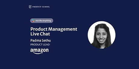 Live Chat with Amazon Product Lead tickets