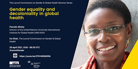 Gender equality and decoloniality in global health tickets