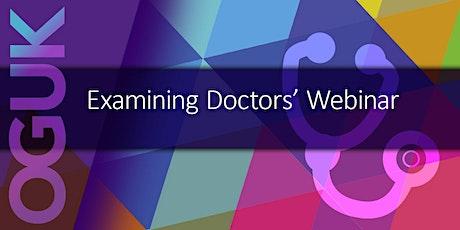 OGUK Examining Doctors Webinar tickets