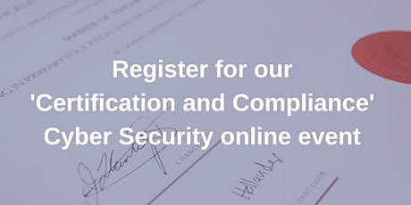 Certification and Compliance within Cyber Security entradas