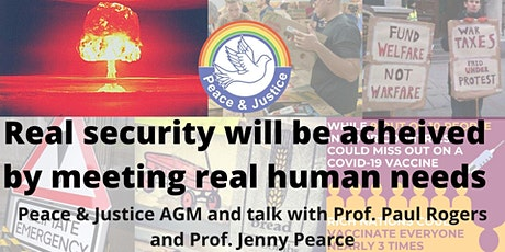 REAL Security will be achieved by meeting REAL human needs: AGM and talk tickets