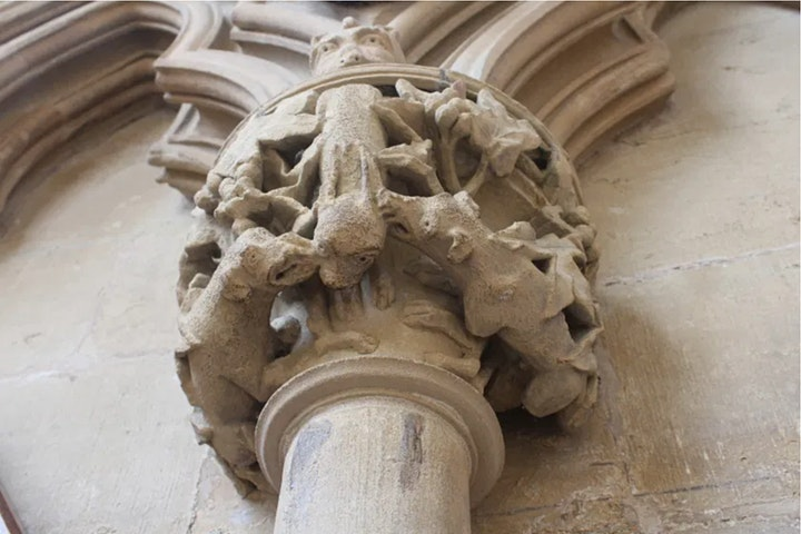Medieval Sculpture: Motifs, Messages & Morals image