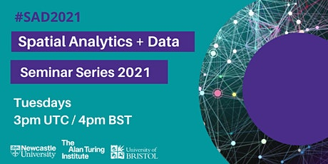 Adventures in Spatial Analysis and Mapping | SAD2020 /2021 Series tickets