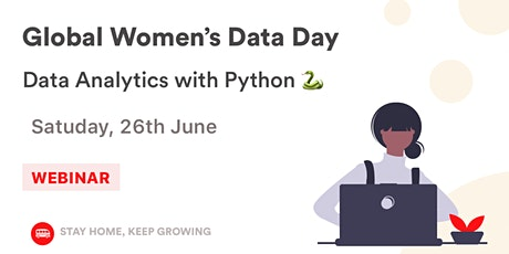 Join our Global Women's Data Day: Data Analytics with Python tickets