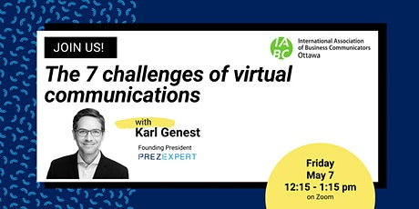 Webinar: The 7 Challenges of Virtual Communications entradas