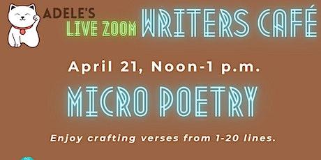 Micro Poetry Workshop tickets