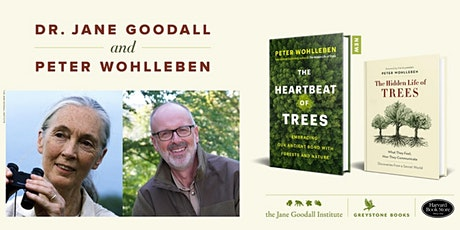 Virtual Event: An Afternoon with Jane Goodall and Peter Wohlleben tickets