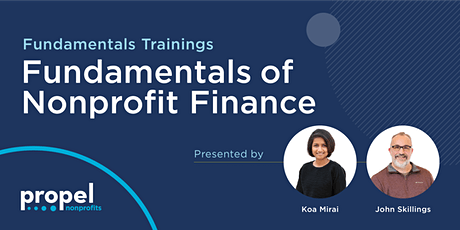 Fundamentals of Nonprofit Finance tickets