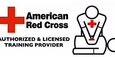Virtual CPR/AED & Basic First Aid Course (American Red Cross) tickets