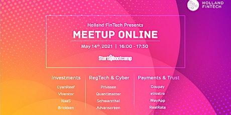 Holland FinTech Online Meetup - Startupbootcamp Edition tickets