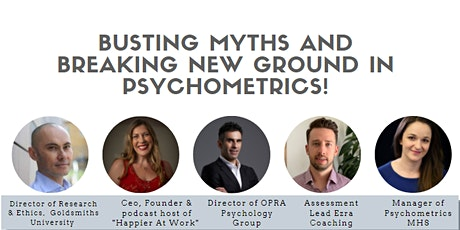 Busting Myths and Breaking New Ground in Psychometrics! tickets