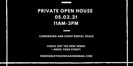 THE DOUBLE YOU OPEN HOUSE tickets