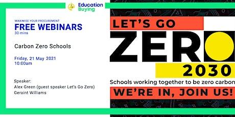 Carbon Zero Schools tickets