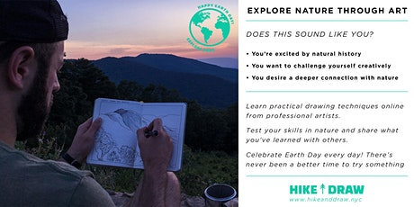 Explore Earth (Every) Day – How to Cultivate Curiosity with Nature Drawing tickets