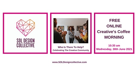 Online Creative Coffee Morning: Celebrating the Creative Community tickets