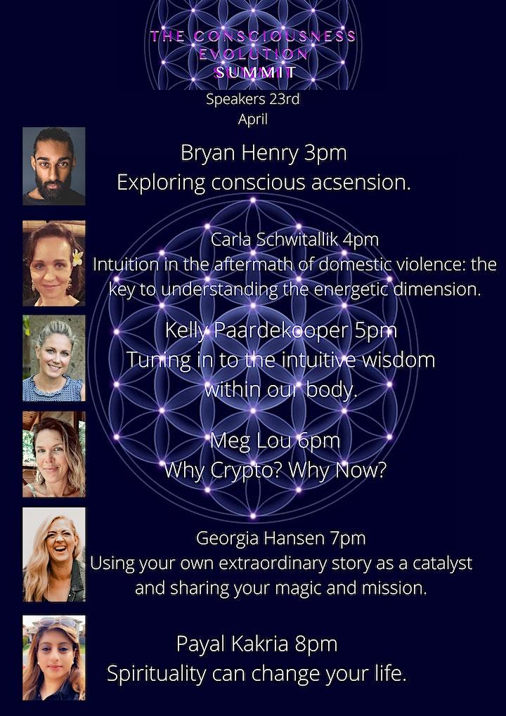 The Consciousness Evolution Summit image