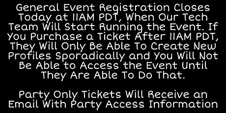 IMsLBB 2021 Virtual Event tickets