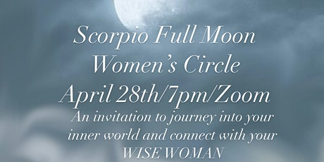 Scorpio Full Moon Women's Circle tickets
